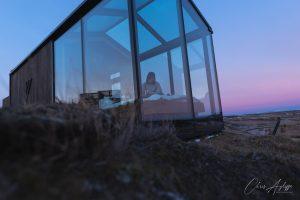 Panorama Glass Lodge Morning Light