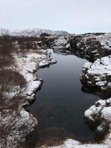 Silfra in winter