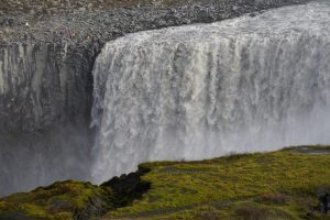 Dettifoss waterfall from west bank