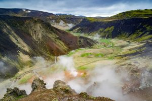 Reykjadalur valley