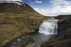 Þórufoss waterfall in Iceland's Golden Circle