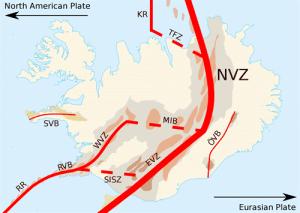Mid Atlantic Ridge diagram