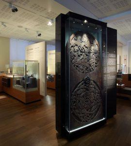 Thjodminjasafn national museum exhibit in Reykjavik