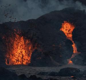 Geldingadalir volcano picture taken by Chris Ayliffe
